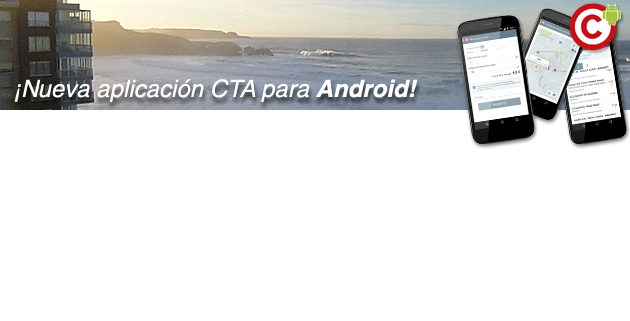 Nueva aplicación CTA para Android