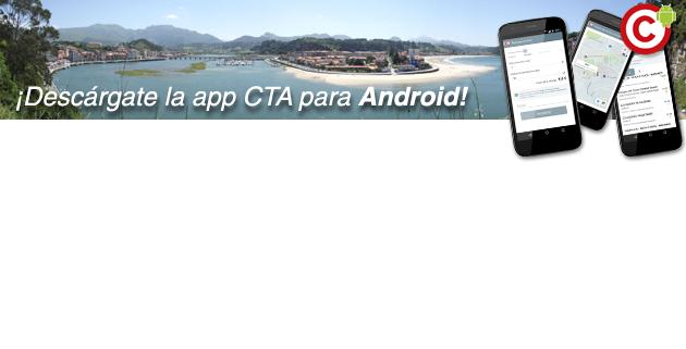 Descárgate la aplicación CTA para Android