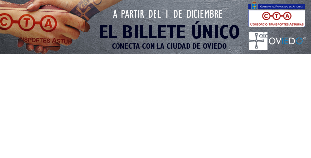 Billete único y la Ciudad de Oviedo