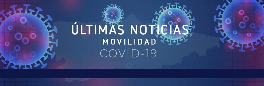 Últimas noticias de movilidad COVID-19